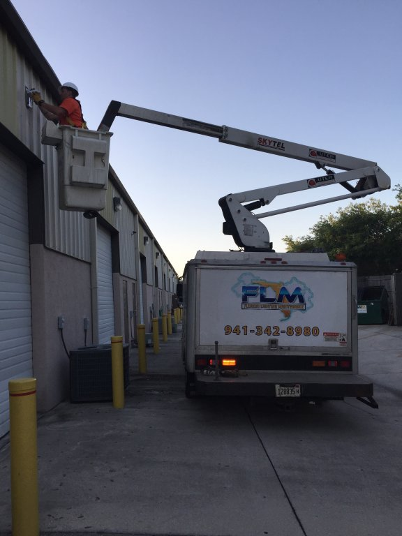 Interior Lighting Maintenance Services in Englewood FL for your Commercial Remodeling Project