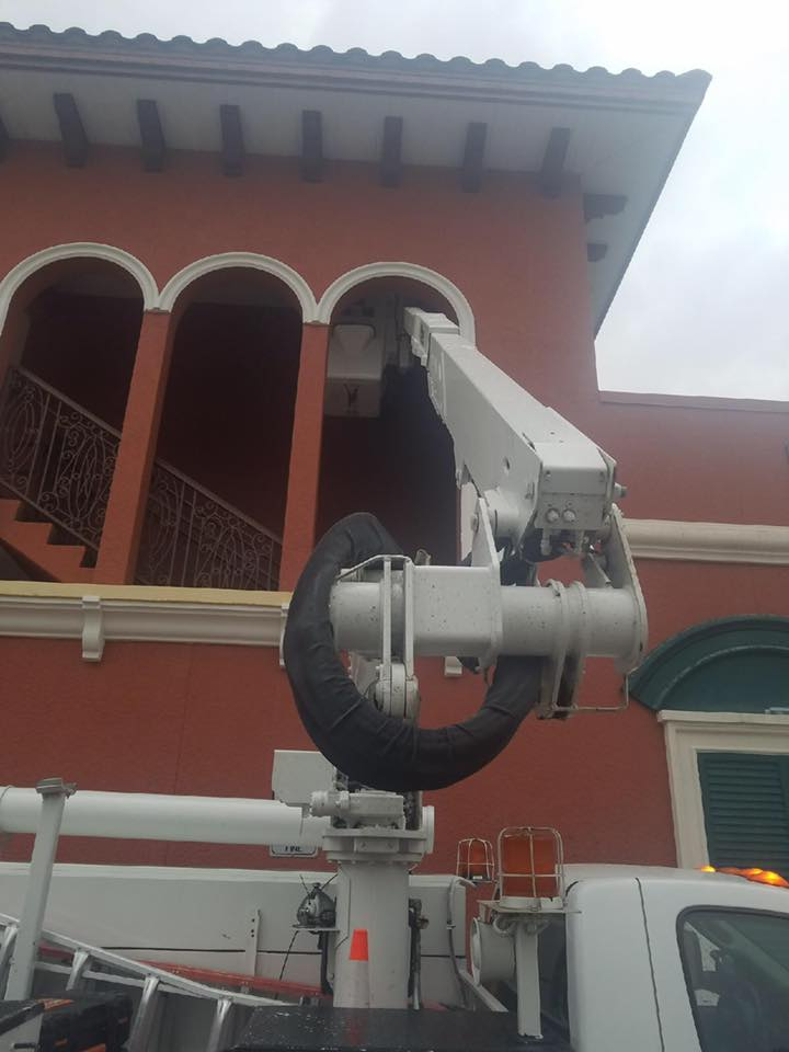 Bucket Truck and Lighting Pole Services services in Sarasota FL for commercial projects