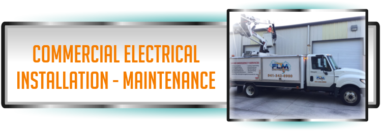 Electrical and Lighting Maintenance Company delivering Maintenace Services to Commercial Customers